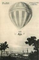 Aviation * Montgolfière * Ballon Monté * Ascension De Sadler à Oxford , 7 Juillet 1810 * Histoire De L'aérostation - Globos