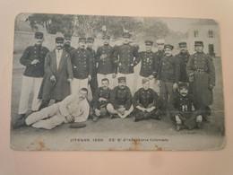 HYERES 1908  - 22° Régiment D'infanterie Coloniale  22° RIC - Regimenten