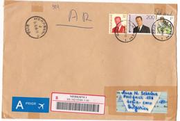 1998 R-envelope / Cover - Large Format) Belgium Belgien / BULGARIA - Lettres & Documents