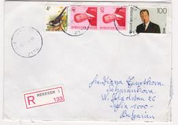 1994 R-envelope / Cover ) Belgium Belgien / BULGARIA - Lettres & Documents