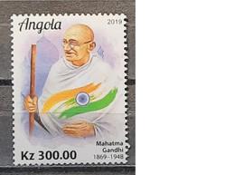 2019 - Angola - MNH As Scan - 150th Anniversary Birth Mahatma Gandhi - 1 Stamp - Mahatma Gandhi