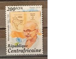 2019 - Central Africa Republic - MNH As Scan - 150th Anniversary Birth Mahatma Gandhi - 1 Stamp - Mahatma Gandhi
