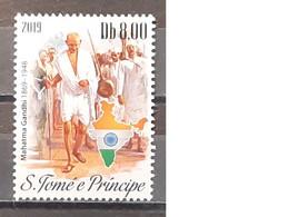 2019 - Sao Tome And Principe - MNH As Scan - 150th Anniversary Birth Mahatma Gandhi - 1 Stamp - Mahatma Gandhi