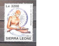 2019 - Sierra Leone - MNH As Scan - 150th Anniversary Birth Mahatma Gandhi - 1 Stamp - Mahatma Gandhi