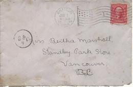 24448) USA Whatcom Postmark Cancel 1903 - Covers & Documents