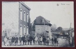 CPA  Belgique , Sortie Des écoles à Rahier En 1937 - Other