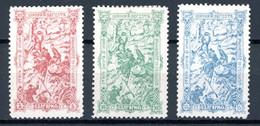 Bulgarie   Y&T   62 - 64   X    ---   Pleine Gomme  --  Excellent état. - Unused Stamps