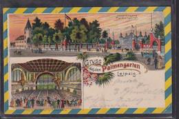 B60 /   Litho Gruss Aus Leipzig , Palmengarten 1903 - Leipzig
