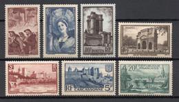 - FRANCE N° 388/94 Neufs ** MNH - Série Complète Sites Et Divers 1938 - Cote 165,00 € - - Nuevos