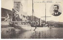 """MONACO - Le Yacht Du Prince """"Hirondelle"""" - Harbor"""