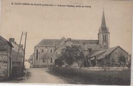 44-SAINT-OMER-DE-BLAIN- VUE SUR L'EGLISE PRISE AU NORD-ANIMEE - Otros Municipios