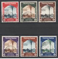 Italienisch Tripolitanien , Nr. 223-28 Gestempelt - Tripolitania