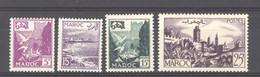 Maroc  :  Yv  331-34  ** - Unused Stamps