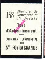 ColBM France Greve 1974 Ste Foy La Grande Neuf XX MNH Cote 45,00 Euro - Huelga