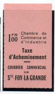 ColBM France Greve 1974 Ste Foy La Grande Neuf XX MNH Cote 145,00 Euro - Huelga