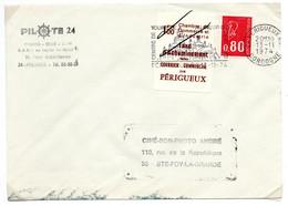 ColBM France Greve 1974 Périgueux Sur Lettre Cote 250,00 Euro - Strike Stamps