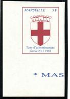 ColBM France Greve 1988 Marseille Neuf XX MNH Cote 20 Euro - Huelga