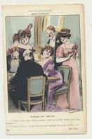 Carte Fantaisie - Nos Humoristes N° 76 - Madame Est Servie ! - Illustrateur Albert Guillaume - Guillaume