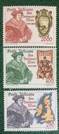 1985 - Vaticano - San Tommaso Moro - Serie  Tre Valori - Nuovi - Nuovi