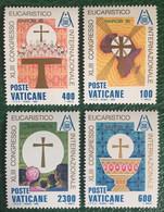 1985 - Vaticano - XLIII Congresso Eucaristico Nairobi '85 - Serie  Quattro Valori - Nuovi - Nuovi