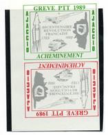 ColBM France Greve 1988 Ajaccio Paire De Bloc Neuf XX MNH Cote >>> Euro - Huelga