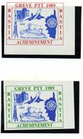 ColBM France Greve 1988 Ajaccio De Bloc Neuf XX MNH Cote >>> Euro - Huelga
