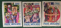 1985 - Vaticano - San Metodio - Serie  Tre Valori - Nuovi - Nuovi