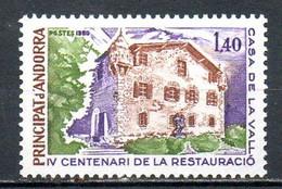 ANDORRE. N°289 De 1980. Maison Des Vallées. - Ungebraucht
