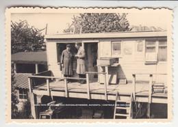 OUDE FOTO WIJNEGEM 1953 DUIVENLIEFHEBBER, DUIVENTIL / CONTROLE VAN EEN DUIF - Wijnegem