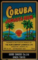JAPAN 1994 PHONECARD CINEMA CORUBA JAMAICA RUM USED VF!! - Cinema