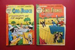 Cino E Franco Avventure Americane 2 Numeri Racconti Completi 1958 Fumetto - Non Classificati