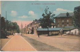 CPA Cambrai  (59) Le Grand Bazar Rue De La Herse    Colorisée Ed Café Français N° 20  RARE - Cambrai
