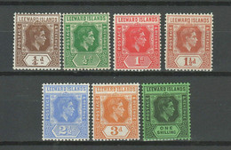 Leeward Islands 1921 -1938 ☀ Lot Of MNH / MH Stamps - Leeward  Islands