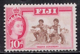 FIJI Scott # 170 MH - QEII & Yaqona Ceremony - Fiji (...-1970)