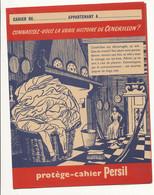 PR 178 /  PROTEGE CAHIER -   PERSIL  U LA VRAI HISTOIRE DE CENDRILLON    ( 24,00 Cm X 18,00 Cm) - Protège-cahiers