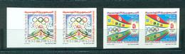 Tunisia 2008- Summer Olympic Games-Peking, China Imperforated Pair - Verano 2008: Pékin