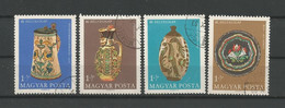 Hungary 1968 Stamp Day  Y.T.  2001/2004 (0) - Gebraucht