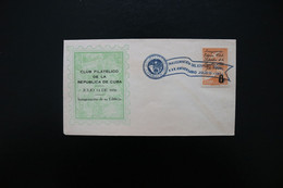 Cuba Philatelic Club 30th Anniversary Special Cancel 1956 A04s - Covers & Documents
