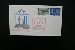 Cuba UNESCO Day Of Issue Cancel 1958 A04s - Covers & Documents