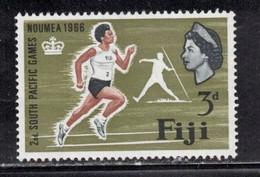 FIJI Scott # 226 MH - QEII & South Pacific Games - Fiji (...-1970)
