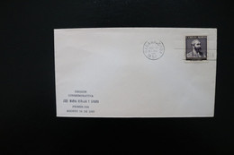 Cuba Girard Day Of Issue Cancel 1957 A04s - Covers & Documents