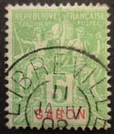 GABON N°19 Oblitéré - Gebraucht