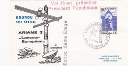 12 SEPTEMBRE 1985 - KOUROU SITE SPACIAL - ARIANE 3 - VOL 15 EN PRESENCE DU PRESIDENT DE LA REPUBLIQUE - ECHEC 3ème ETAGE - Altri