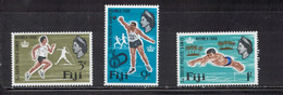 FIJI Scott # 226-8 MH - QEII & South Pacific Games - Fiji (...-1970)