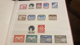 11 Timbres Nations Unies 1951 Neufs +les 4 Poste Aérienne  1951 / 1957 Neufs - Ungebraucht