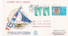 9 SEPTEMBRE 1982 - KOUROU SITE SPACIAL -ARIANE -TIR L 5 23 H 12 - HO + 640 SECONDES - INCIDENT DE FONCTIONNEMENT - Altri