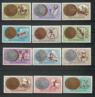 Hungary 1965 Ol. Games Tokyo Medals Y.T. 1700/1711 ** - Ungebraucht