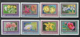 Hungary 1971 Flowers Y.T. 2177/2184 ** - Ungebraucht