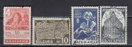 Bulgaria 1946 - 50 Jahre Bulgarische Postsparkasse, Mi-Nr. 524/27, Used (O) - Gebraucht