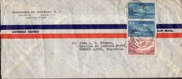 Cuba - Circa 1930 - 2 Carta - Correo Aereo - Sobres Comerciales - Covers & Documents